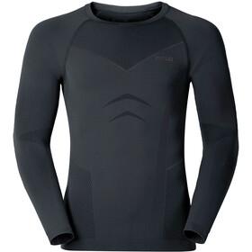 Odlo Evolution Warm Shirt L/S Crew Neck Men black/odlo graphite grey
